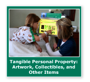 Photo button of a girl patient with a nurse. Link to Tangible Personal Property.